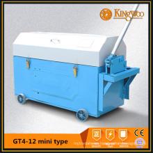 Mini enderezador y cortador de barras de acero GT4-12