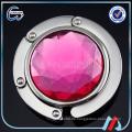 Dia 45mm rosa Kristallbeutelhalterhaken