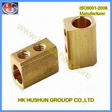 Precision Copper Part Copper Stud, Brass Connector (HS-CS-009)