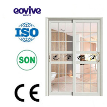 New style wardrobe door designs aluminium alloy double door