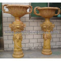 Stone Marble Urn for Garden Ornament (QFP344)