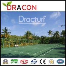 Herbe résistante UV de gazon synthétique de pelouse de tennis de pelouse (G-2045)