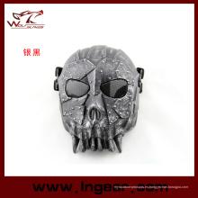 Tropa militar de DC-01 cráneo máscara táctica media mascarilla para Airsoft