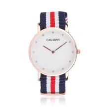 Reloj de pulsera de moda reloj de tela para Unsex