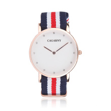 Fabric Watch Fashion Wristwatch for Unsex