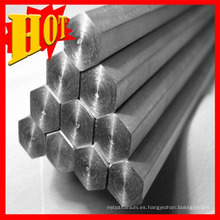 Nueva llegada Pure Titanium Hexagonal Bar