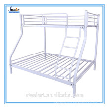 Space saving metal furniture bedroom double deck bed