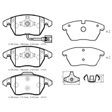 VOLKSWAGEN Caddy polo golf brake pads D1107-8212