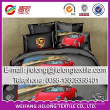 tela barata de la hoja de cama de la microfibra del precio barato de la alta calidad telas de la hoja de cama del satén del algodón 100 teñidas tela de la hoja de cama