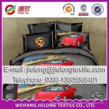 Alta qualidade preço barato bonito microfibra folha de cama tecido 100 tecidos de cetim lençol de cama escovado folha de cama tecido