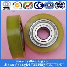 Rolamento de esferas das rodas da porta do PVC da roda do sulco de 638Z delrin v