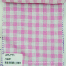 tecido de linho tingido de fios vendidos de fábrica / fabricante