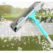 Fang Xiaoya telescopic rod double-sided brushing scraper high-rise cleaning window cleaning tool glass artifact household