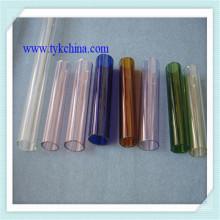 Tubo de vidrio de cal sodada para frasco botella cosmética