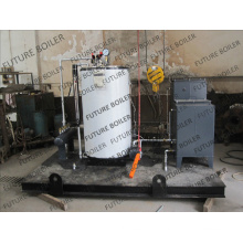 Paket Dampfkessel mit Dampfgenerator (50-300Kg / h)