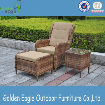 Outdoor Wicker Furniture Rattan 3 pcs Dining Set