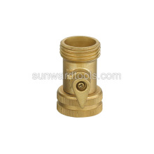 Brass one way switch coupling
