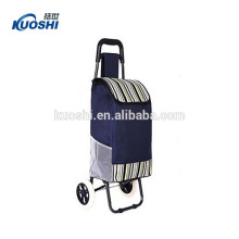 custom logo printed vegetable shopping plastic trolley bag