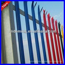 Fabrik ISO 9001: 2008 Farbige Palisade Fechten