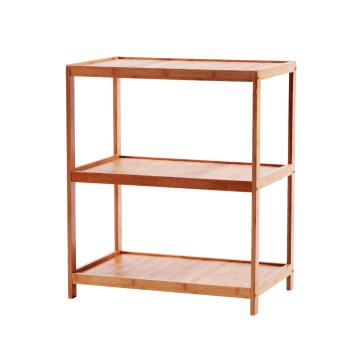 Bamboo 3-Layers Rack Bamboo 3 Tier Storage Shelf