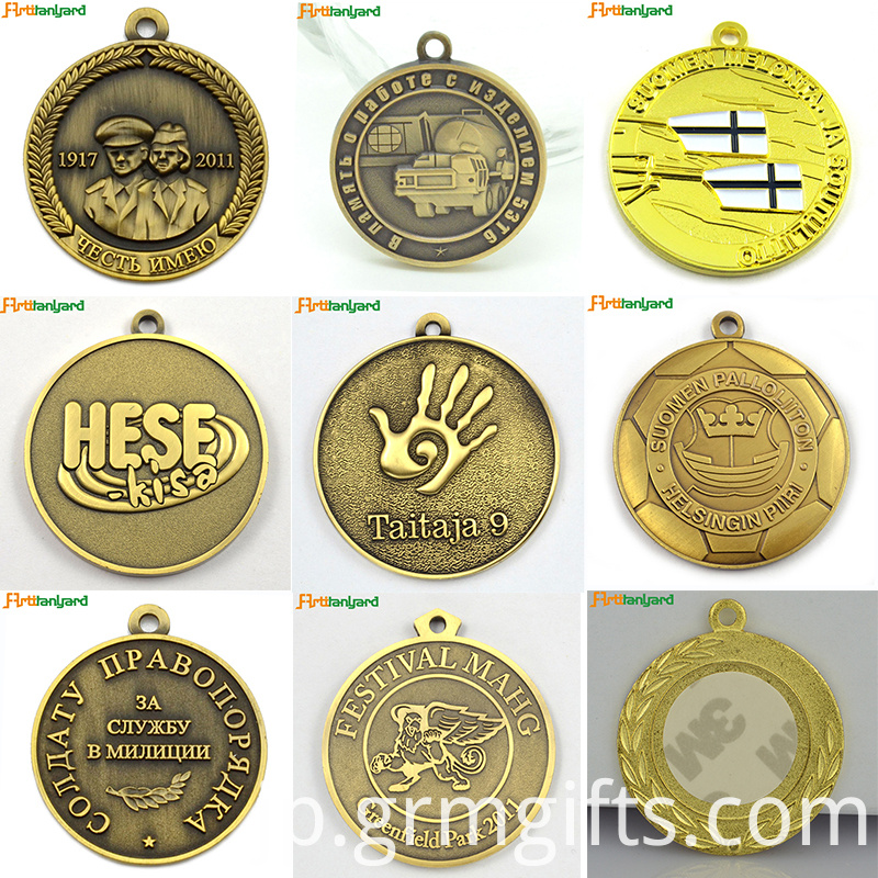 Custom Award Medals