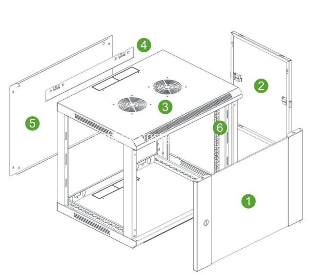 sa wall cabinet structure