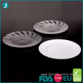 9 Inch Disposable Plastic Plate Party Scalloped