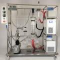 CBD extraction molecular distillate machine system