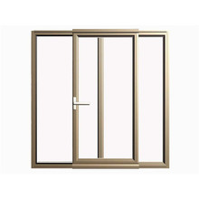 fenêtre coulissante en aluminium de revêtement en poudre d'usine