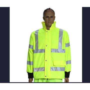 Jaqueta de segurança, feita de tecido de Oxford, fábrica em Ningbo, China