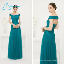 Tulle Lace Appliques Sheath Elegant Evening Dress 2017 Long