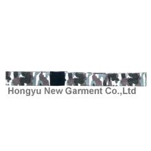 Legierung Gürtelschnalle 100% Polyester Gurtband Custom Gürtel (HY-WB017)