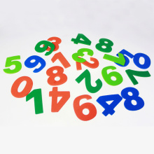 Foam Number sticker assortment