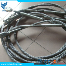 304 16 mm Cable de acero inoxidable 7x19