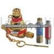 Re-setable Flashback Arrestor for regulator and cutting torch as welding accessories