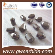 Bits de botão de carboneto de tungstênio para mineração