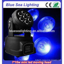 Best price 7x10w rgbw 4in1led moving head rgbw wash light