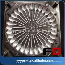 Super qualité en plastique injection cuillère moule, bonne qualité en plastique injection moule cuillère moule, fabricant de moules en plastique cuillère en Chine