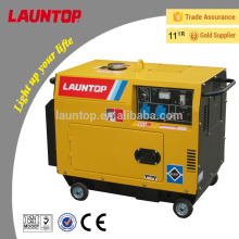 5,5 кВт одноцилиндровый бесшумный дизельный генератор с воздушным охлаждением