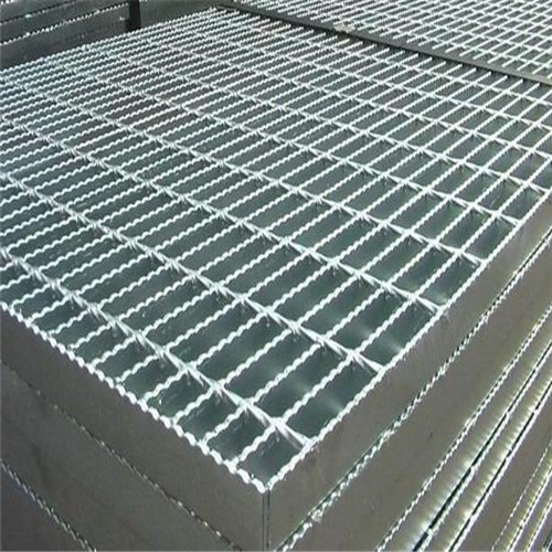 Galvanized steel metal grating flooring