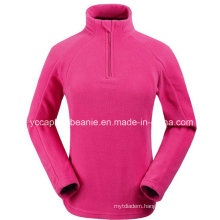 Cheap 1/4 Zip Women Polar Fleece Jacket