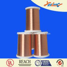Fio de cobre esmaltado de poliuretano de classe 155