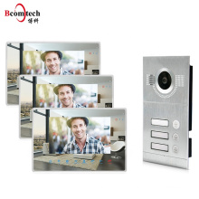 Bcomtech 2018 NEW Design 720P Home Camera 7 inch Touch Screen Video Intercom Support Smart Phone Video Door Phone