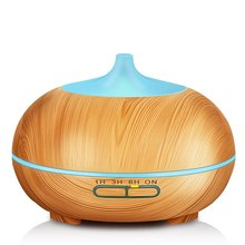 300ml Wood Grain Aroma Diffuser Humidifier