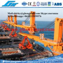 10t @ 20m Hydraulic Fixed Boom Marine Crane