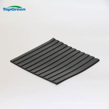 non slip wide ribbed rubber sheet price