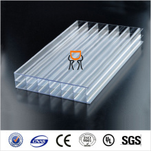clear twin wall polycarbonate Sheet Flexible polycarbonate hollow sheet