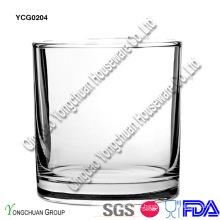 Copo de uísque de vidro