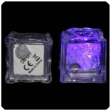 Cubo de gelo LED, cubo de gelo LED, cubo de gelo intermitente, cubo de gelo instantâneo, cubo de gelo leve, luz de cubo de gelo, acenda o cubo de gelo