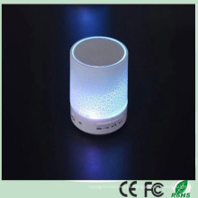 Mini alto-falantes LED com Bluetooth (BS-07)